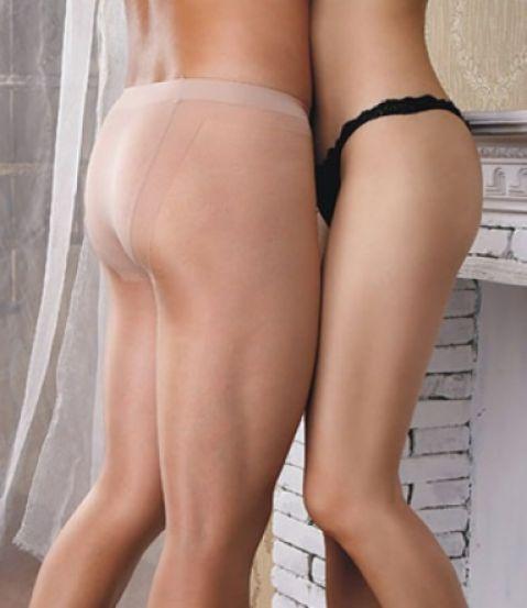 Waist Pantyhose For Men 110