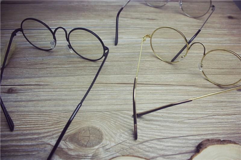 32eee677d874 Mori Girl VINTAGE Round Glasses Eyewear Metal Frame Lolita Three Colors  Choose. quantity: one glasses. Color:Black/Silver/Golden