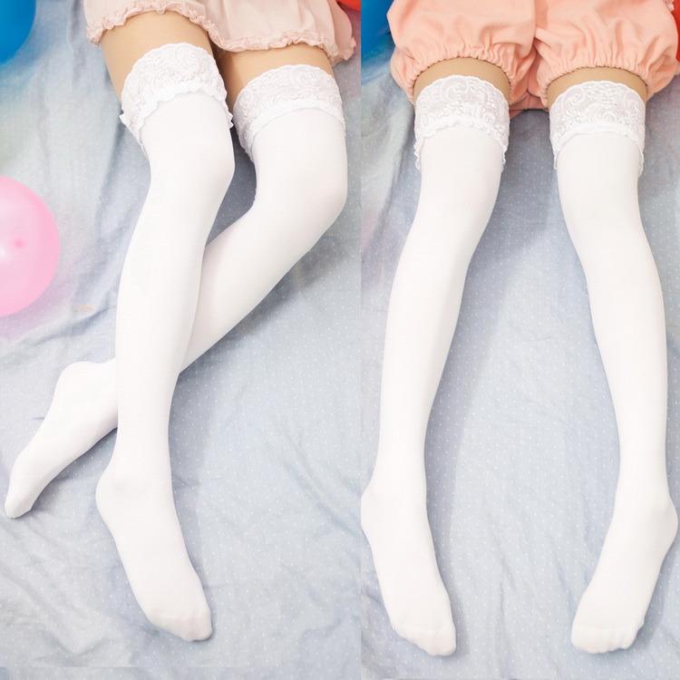 Preppy Stocking Cute Style Long Over Knee High Socks Women Medias Socks BL3