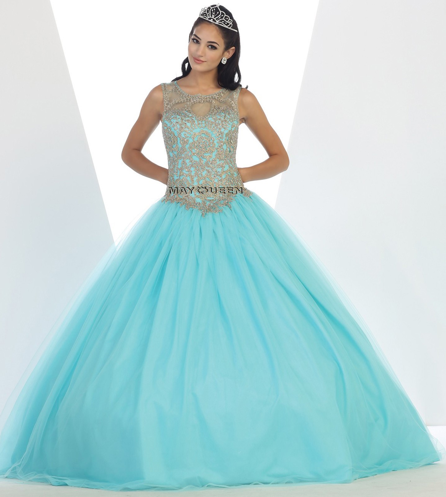 Quinceanera Sweet 16 Ball Gown Dress Party Prom Evening Cocktail ...