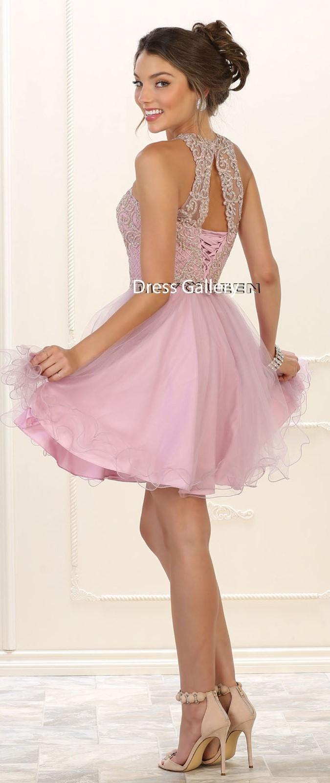 Short Dresse Dance Gown Birthday Party Graduation Elegant Prom ...