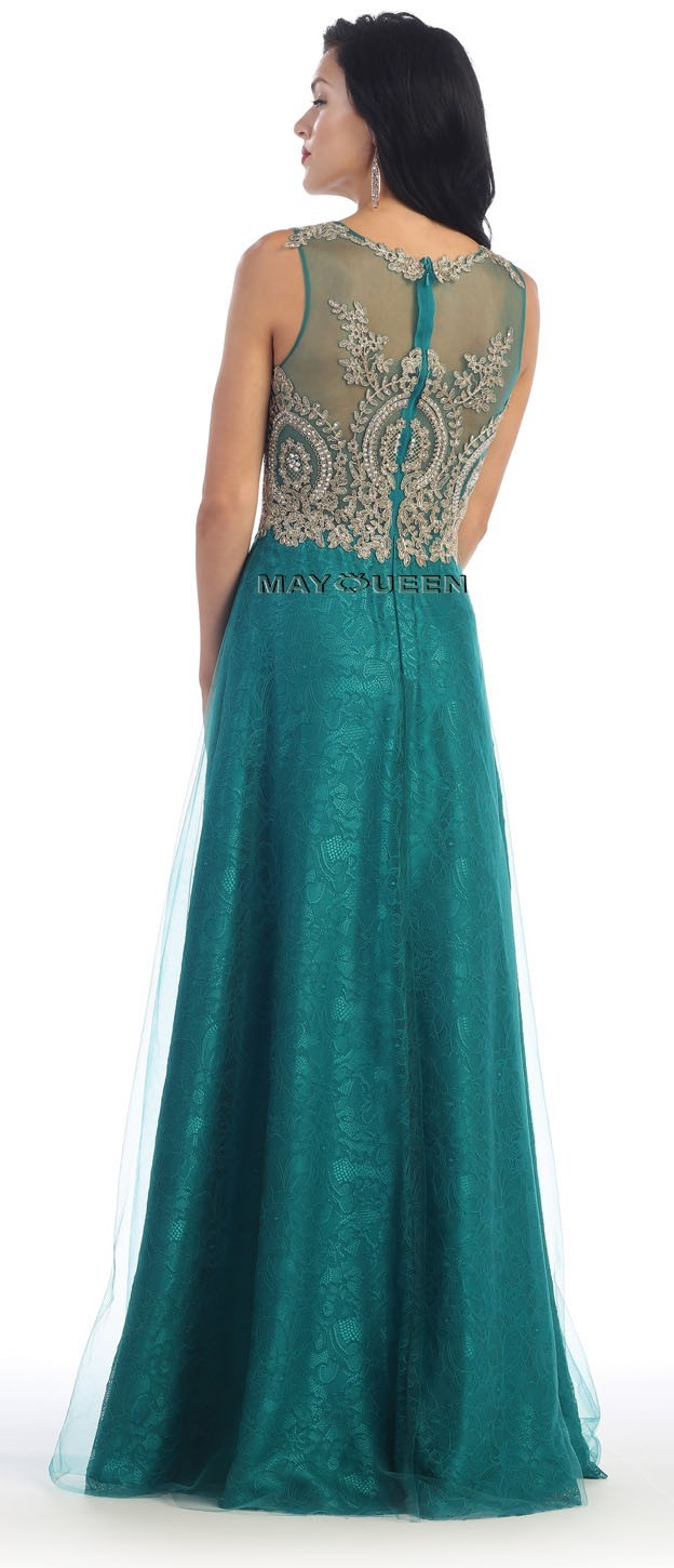 Lace/Chiffon Long Mother Of The Bride/Groom Gown Formal Dress Party ...