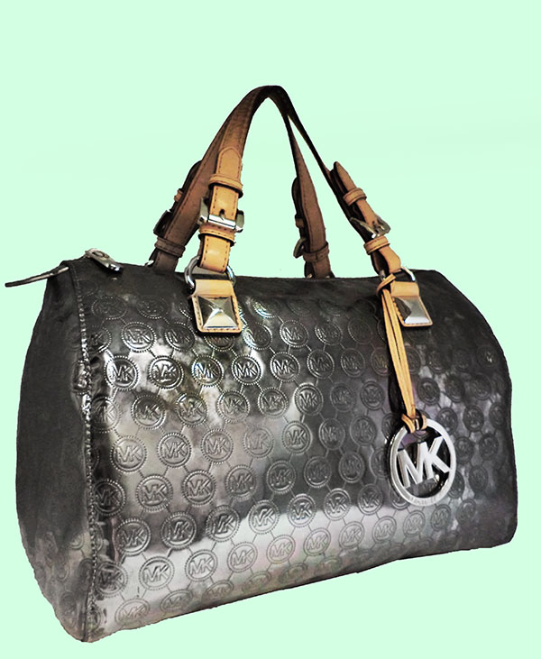 c9826dec32e4 Michael Kors Silver Metallic Purse | Stanford Center for Opportunity ...