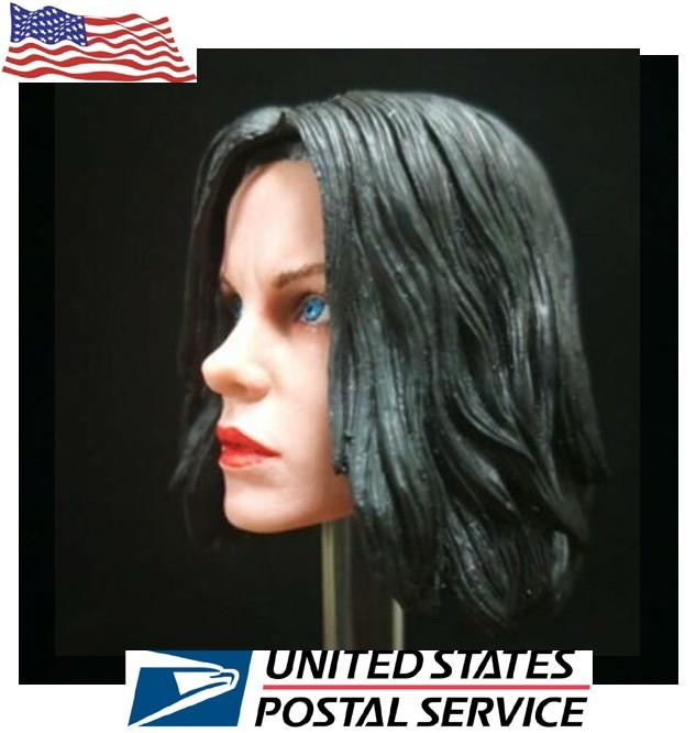 1//6 Kate Beckinsale Female Head Selene Underworld for 12/'/' Pale Phicen