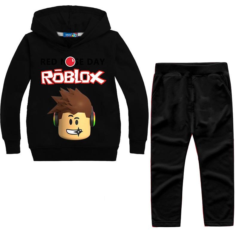 2ee1951ea5c ROBLOX Boys Girls Kids Sweatshirt Hoodies Pants Spring Fall Casual ...