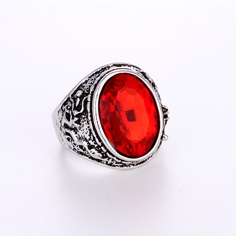 Men//Women Unique Rings Jewelry glass Fashion Band Size Pick