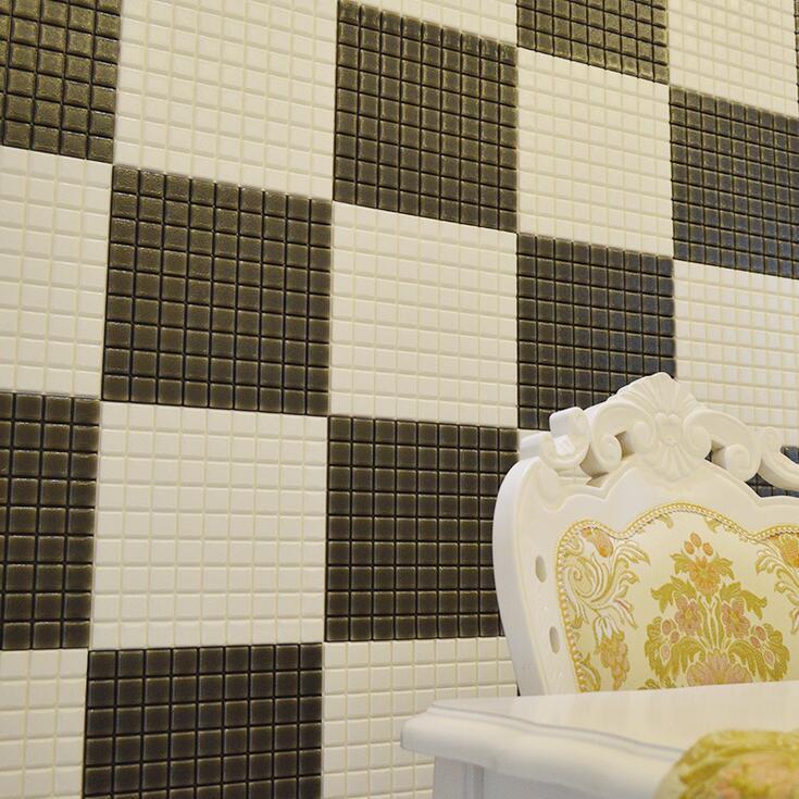 5x 3D Fliesenaufkleber Wand Sticker Abziehbild Fliesenfolie Mosaik ...
