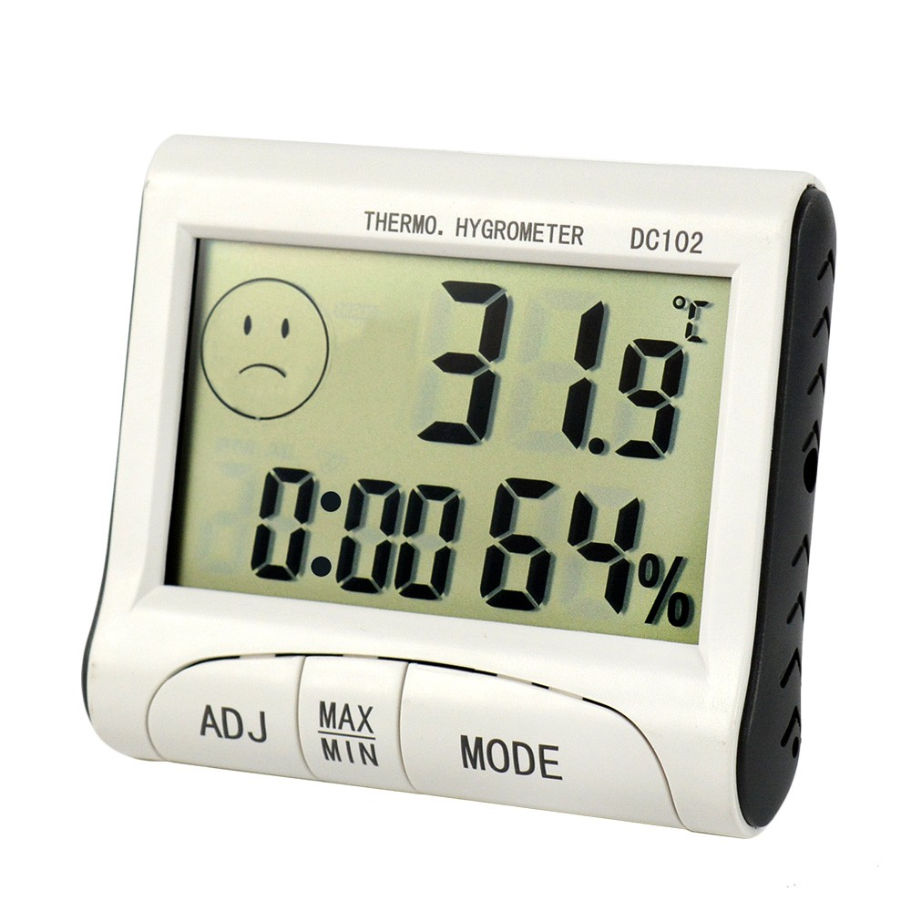 Digital Indoor Outdoor Hygrometer Weather Thermometer Humidity 1