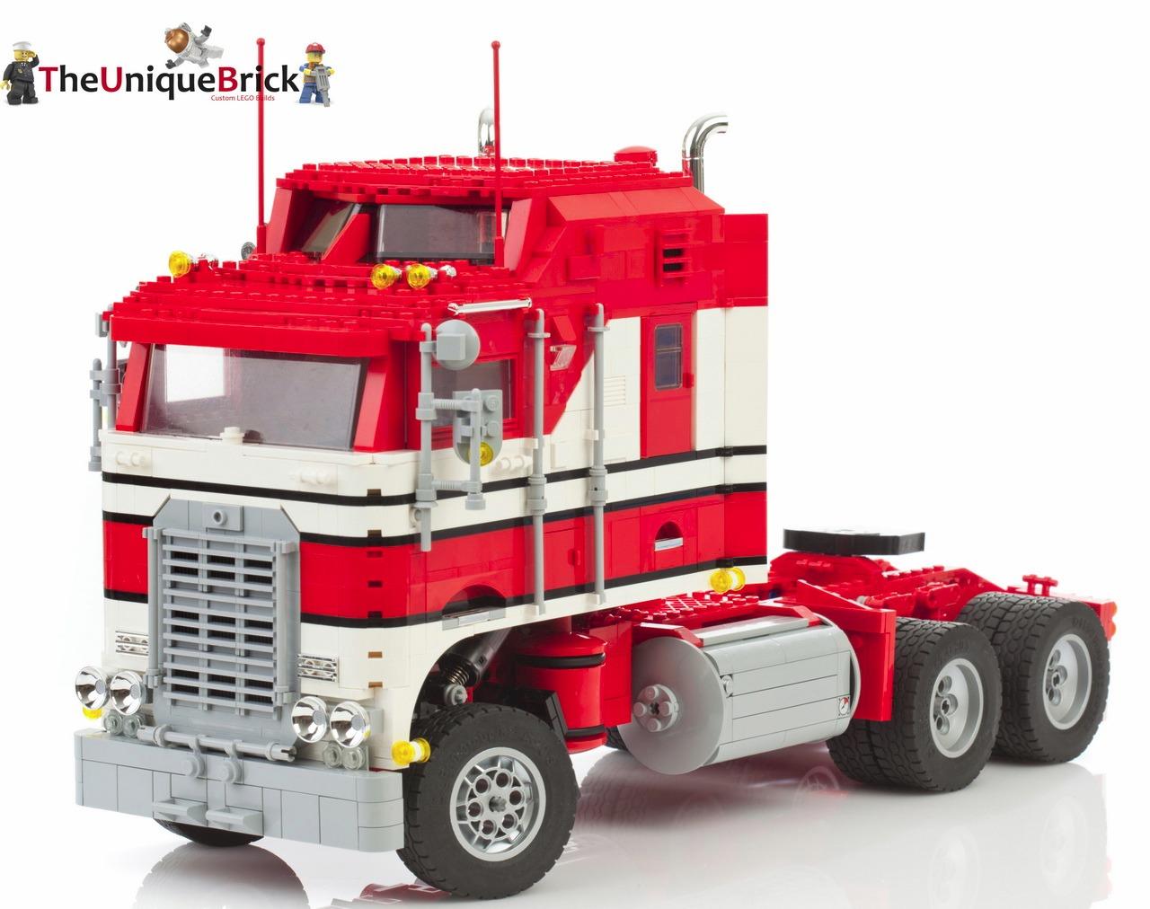 lego kenworth truck pdf instructions manual custom design 10218 10242 70404 ebay. Black Bedroom Furniture Sets. Home Design Ideas