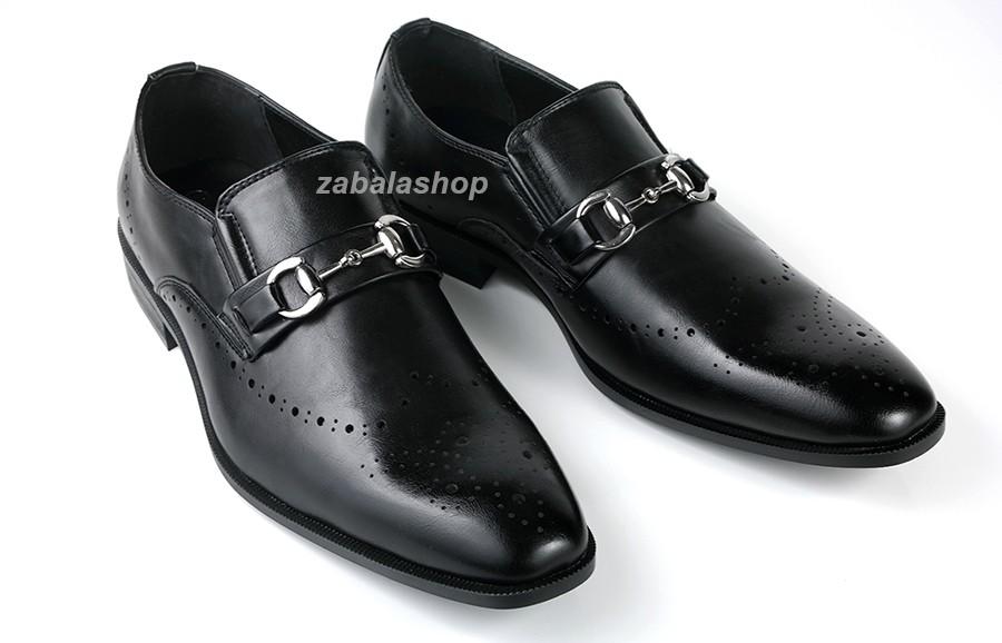 Men Dressy Slip-on Loafers Metallic