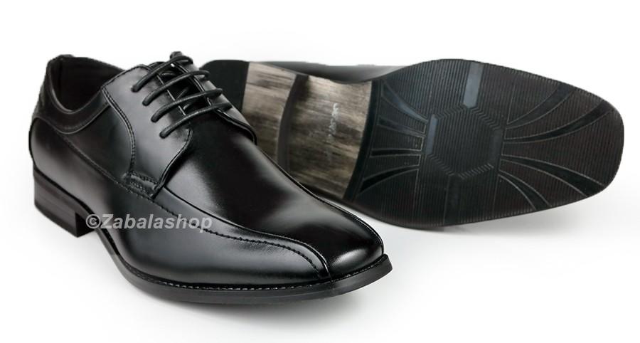 Men Classic Dress Oxfords Lace up Shoes
